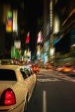 Limo New York do Times Square foto de stock