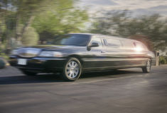 Limo Service Stock Photography