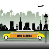 Limo service Royalty Free Stock Photos