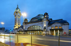 Limoges-Benedictins Train Station Royalty Free Stock Images