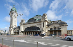 Limoges-Benedictins Train Station Stock Photos