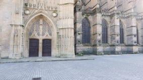 Limoges katedra w Francja zdjęcie wideo