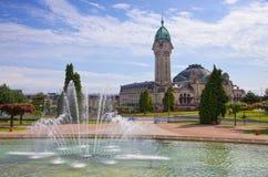Limoges stacja Zdjęcia Royalty Free