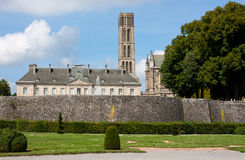 Limoges. View on the St. Etienne Cathedral in Limoges, France Royalty Free Stock Photos