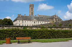 Limoges. View on the St. Etienne Cathedral in Limoges, France Royalty Free Stock Image