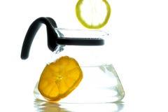 Limon di goccia fotografie stock