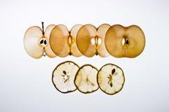 Limon e maçã Fotografia de Stock
