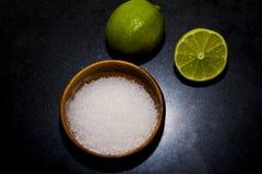 Limon Y Sal Royalty Free Stock Photo