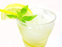 Limonada amarela foto de stock royalty free