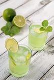 Limonada caseiro do citrino Fotos de Stock