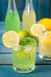 Limonada caseiro do citrino Foto de Stock Royalty Free