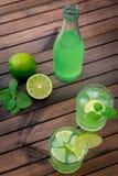 Limonada caseiro do citrino Imagem de Stock