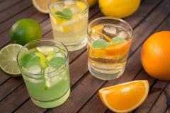 Limonada caseiro do citrino Fotografia de Stock