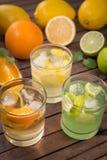 Limonada caseiro do citrino Imagem de Stock Royalty Free
