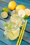 Limonada caseiro do citrino Foto de Stock