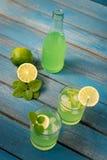 Limonada caseiro do citrino Fotos de Stock Royalty Free