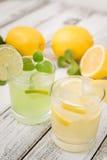 Limonada caseiro do citrino Imagens de Stock Royalty Free