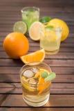 Limonada caseiro do citrino Imagens de Stock
