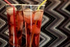 Limonada cor-de-rosa Fotografia de Stock