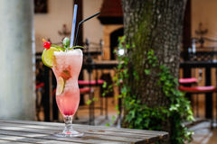 Limonada cor-de-rosa Imagem de Stock Royalty Free
