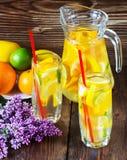 Limonada de una fruta cítrica Imagen de archivo libre de regalías