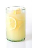 Limonada en blanco foto de archivo