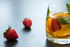 Limonada fresca de um citrino imagem de stock