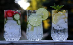 Limonada fresca em um dia quente Fotografia de Stock Royalty Free
