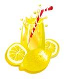 Limonada (ilustración) Imagen de archivo