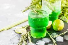 Limonada verde Fotografía de archivo