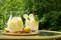Limonade stockfotografie