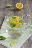 Limonade avec la menthe Photographie stock libre de droits