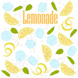 Limonade de modèle illustration de vecteur