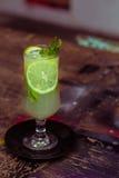 Limonade en munt Stock Fotografie