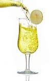 Limonade im Glas Stockfoto