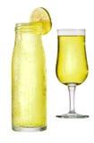 Limonade im Glas Stockbild