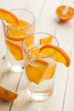 Limonade orange Images libres de droits