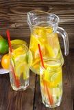 Limonade van een citrusvrucht Stock Foto