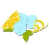 Limonadeembleem vector illustratie