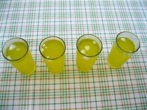 Limonaden mit Eis Lizenzfreie Stockfotos