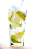 Limonadengetränk stockbild