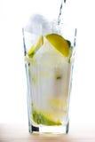 Limonadengetränk stockfoto