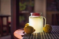 Limonadenhintergrund Stockfotografie
