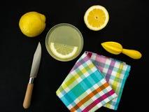 Limonadevoorbereiding Stock Foto