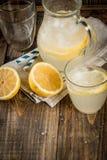 Limonata acida e dolce classica Fotografie Stock Libere da Diritti
