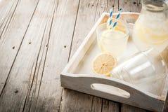 Limonata acida e dolce classica Fotografie Stock