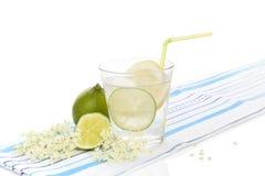 Limonata della bacca di sambuco Fotografia Stock