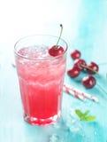 Limonata della ciliegia Immagini Stock