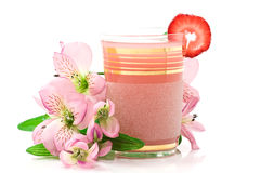 Limonata della fragola Fotografie Stock