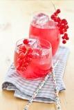 Limonata fresca con il ribes Fotografia Stock Libera da Diritti
